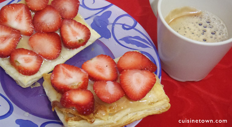 Easy Strawberry Puff Pastry