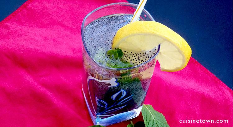 chia seeds detox drink