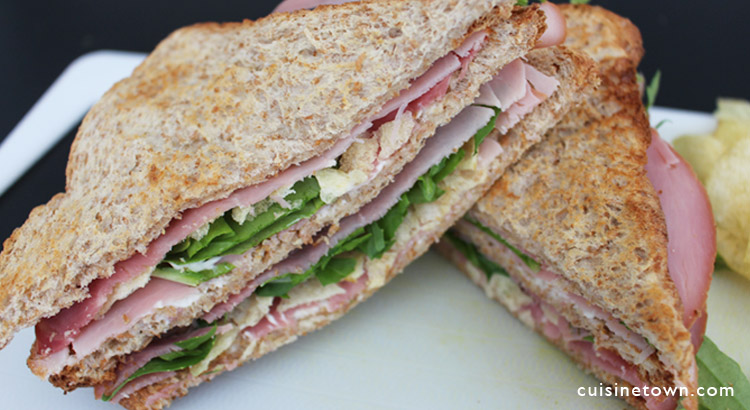 Sandwiches BlackForest ham