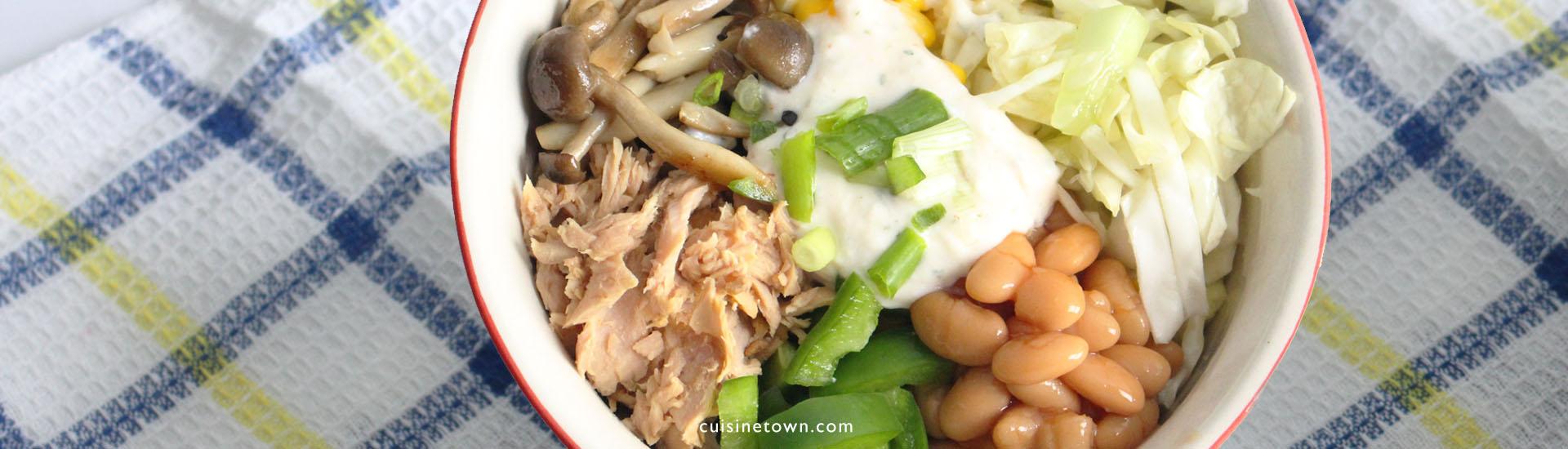 Easy Tuna Burrito Bowls