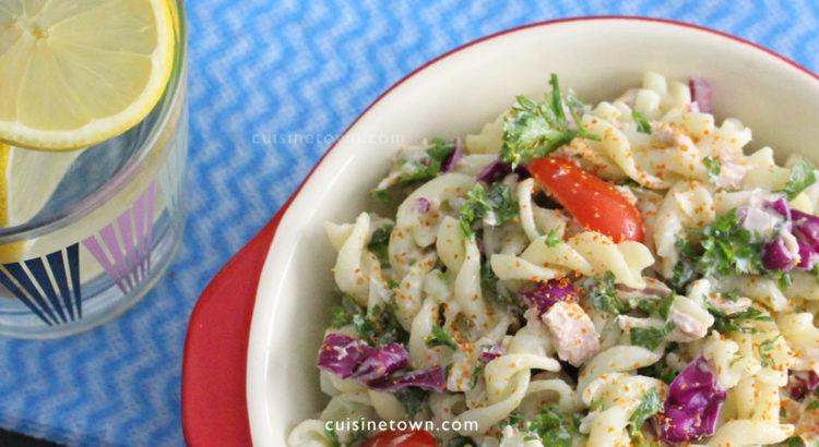 healthy tuna macaroni salad
