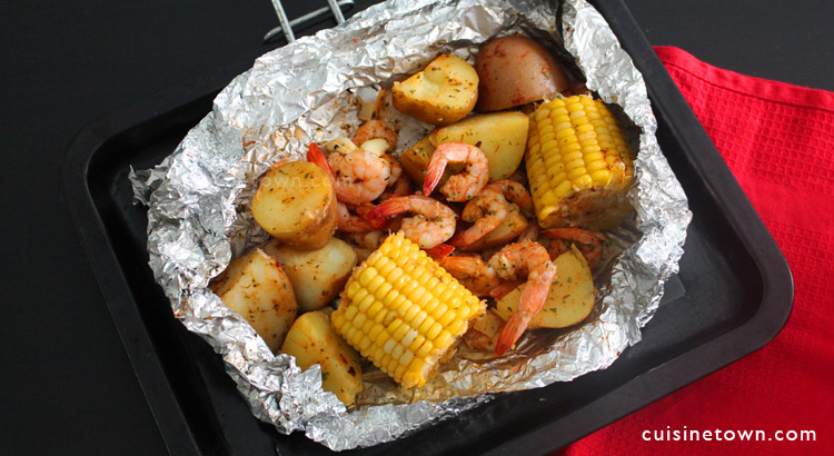 Shrimp Foil Packets